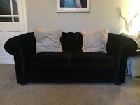 Chesterfield velvet sofa never been used