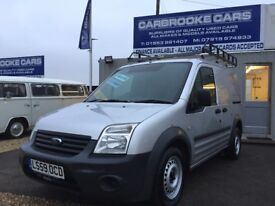 2009 59 FORD TRANSIT CONNECT T200 - LONG MOT -SERVICED - WARRANTY - NO VAT - NEW CLUTCH FITTED -