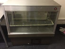 counter fridge display unit
