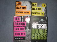 SET OF IAN RANKIN/ ELIZABETH GEORGE/ SUE GRAFTON BOOKS