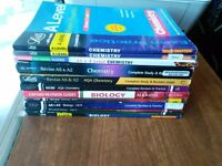 Job lot (12) Biology and Chemistry A level books!!!
