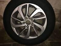 Tyres + alloys BRAND NEW