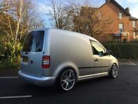 "## COMPLETELY AWESOME ## VW CADDY VAN 2.0 TDI (140).... """"PART EXCHANGE CONSIDERED"""""