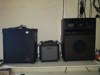 Guitar Amplifers £30-50 ono.