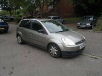 FORD FIESTA 1.4 PETROL LONG MOT CHEAP TAX