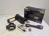 Panasonic HC-VXF990 4K Camcorder Built In Wireless Multi-Camera Function