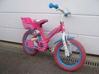 Girls Hello Kitty Pink bicycle