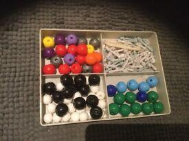 Molecular model kit