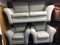 New/Ex Display Cargo Aubery 3 Seater Sofa + 1 Seater Sofa + 1 Seater Sofa