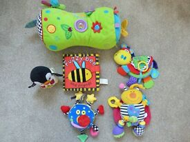 BUNDLE OF SOFT BABY TOYS