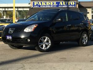 2010 Nissan Rogue SL*AWD*SUN ROOF*HEATED SEATS*ALLOY RIMS*BLUTOO