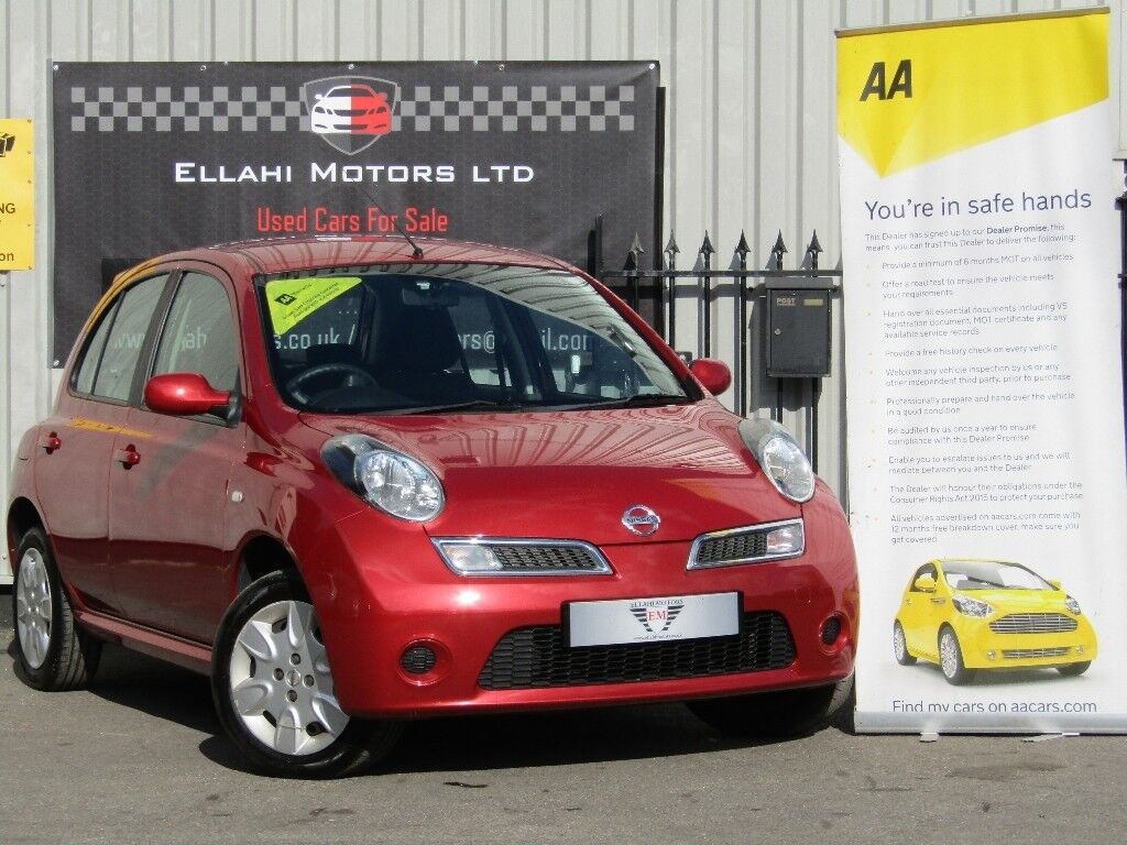 Nissan Micra 1.2 16v Acenta 5dr, X Demo & 1 Lady Owner From New | in ...