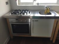 free standing IKEA sink/hob unit