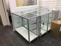 Mobile cabinet displays