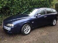 Alfa Romeo 156 JTD 1.9 Sportwagon 8v 5 speed
