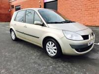 MAY 2007 RENAULT SCENIC DYNAMIQUE 1.6 VVT SERVICE HISTORY JUST PASSED THE MOT EXCELLENT CONDITION