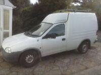 Vauxhall Combo Diesel Van.