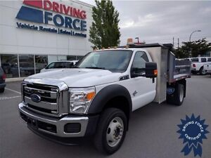 2015 Ford Super Duty F-550 XLT 6.7L V8 Diesel, CD/MP3, 13,323 KM