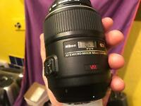 Brand new nikon 105 mm micro