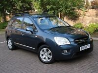 EXCELLENT DIESEL 7 SEATER!! 2009 KIA CARENS 2.0 CRDi GS 5dr, LONG MOT, WARRANTY