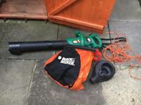 Black and Decker Garden Leaf Vacuum