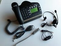 BT Versatility V8 Office Call Centre Phone with Headset