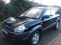 Hyundai Tuscon Jeep 2L Diesel 2005 Full Years MOT