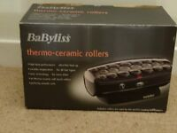 Babyliss Thermo-Ceramic Heated Rollers.