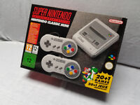 Super Nintendo Classic Mini (SNES) Games Console - Unlocked