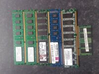 5 Pc Memory & 1Laptop Memory stick.