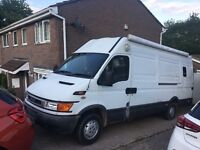 Iveco daily motocross campervan