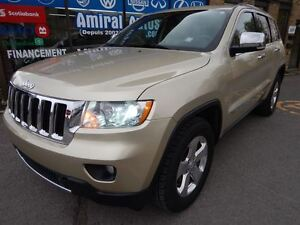 2011 Jeep Grand Cherokee Limited*CUIR*TOIT OUVRANT*FULL LOAD*