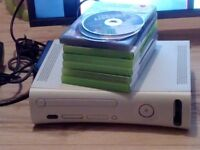 Xbox 360 6games 2consoles all leads perfect conditions