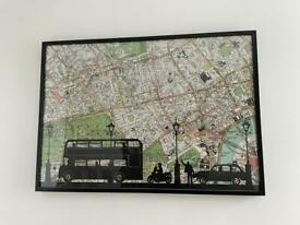 IKEA London picture frame