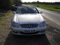 MERCEDES CLK CONVERTIBLE 2006 FACE LIFT MODEL 7 SPEED AUTO FACTORY SAT NAV FOR SALE