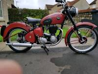 Bsa c10 with c11 engine 1955