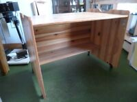 PACO Solid Pine Children's Desk