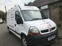 Renault master mwb high top 2.5 diesel 5 speed gearbox breaking