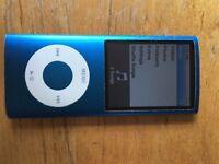 Blue iPod Nano 8gb (4th Gen)