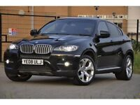 2008 BMW X6 3.0 35d xDrive 5dr FINANCE ME TODAY+ HIGH SPEC.+TWIN TURBO+JUST SERVICED+FREE WARRANTY