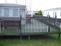 3 Bedroom sleep 10 Caravan to rent at Southview Skegness from 3rd Sep