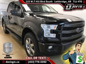 2015 Ford F-150 Supercrew Lariet-Heated/Cooled Leather