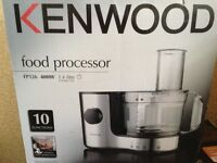Kenwood Food Processor FP126 400W 1.4litre - new in box but box is damaged!