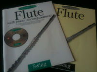 NEW Flute Swing (Solo Plus) Sheet Music (CD & Piano Accompaniment)