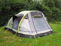 6 Man inflatable tent and plenty of camping gear
