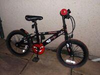 Kids Bike, Apollo Urchin, in good condition