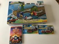 Thomas and friend adventure toys and dvd