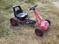 Original Kettcar - quality child's pedal car - works well but needs a quick clean and tidy