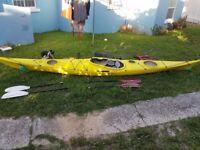 16' Sea Kayak +gear - almost new