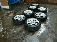 Vectra Sri wheels and tyres